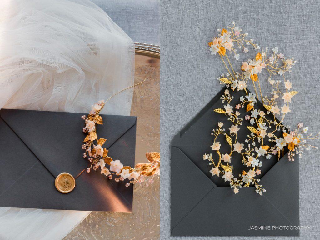 """natural light fine art bridal hair accessories"""